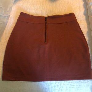 silence + noise mini skirt